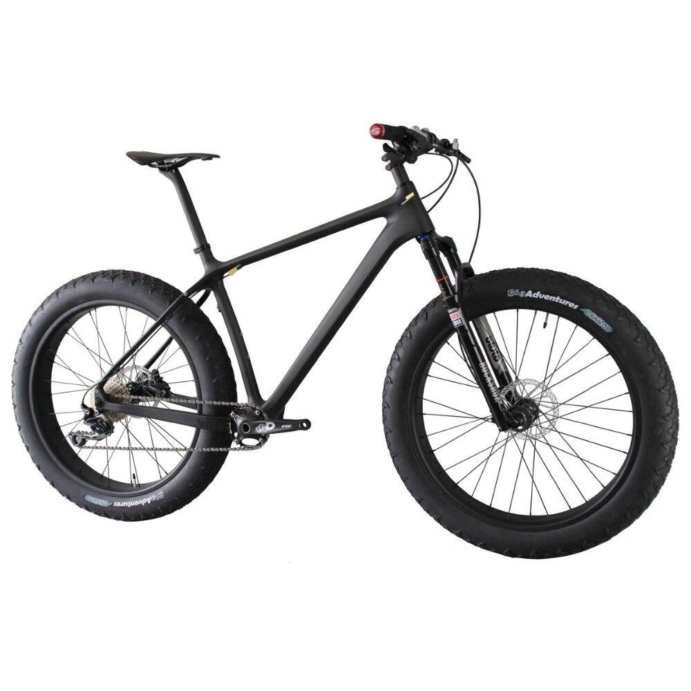 ICAN 4.8 pouce max gros pneu avant/suspension simple 10 vitesse neige vélo 16/18/20 pouces disponibles Complète Gras Vélo