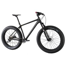 ICAN carbon 4 8 inch max fat tire front single suspension 10 speed snow bicycle 16