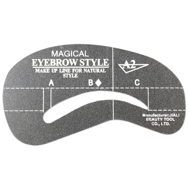24 Styles Eye Makeup Eyebrow Stencils DIY Eyebrow Shaper Painting Guide Stencil Eye Brow Drawing Guide Template Make Up Tools 4