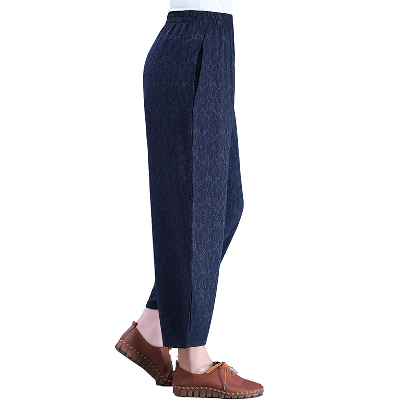 Women Ethnic Loose Pants Orietnal Pattern Turnip Trousers Woman Big Yards Comfort Pantalones Mujer Chinese Lady Casual Pant Red in Pants amp Capris from Women 39 s Clothing