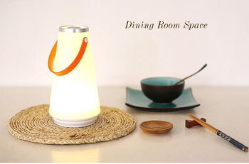 Portable Indoor &Amp; Outdoor Led Night Light With Touch Dimmer