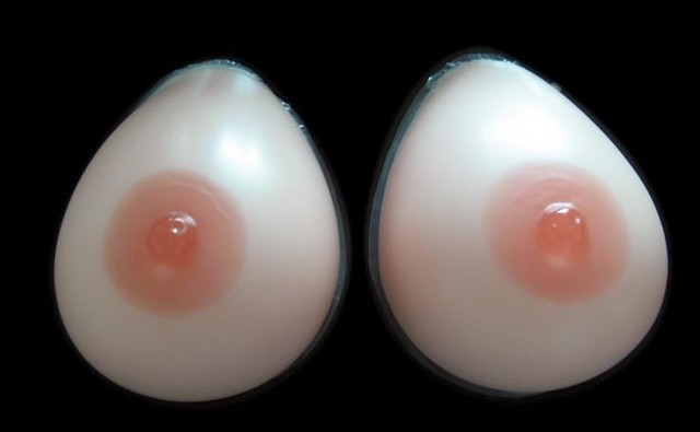 1 pair B CUP Silicone Breast Forms for Mastectomy Women Fake Breast Making Body Balance Artificial Boobs Big Chest Favorite 250g
