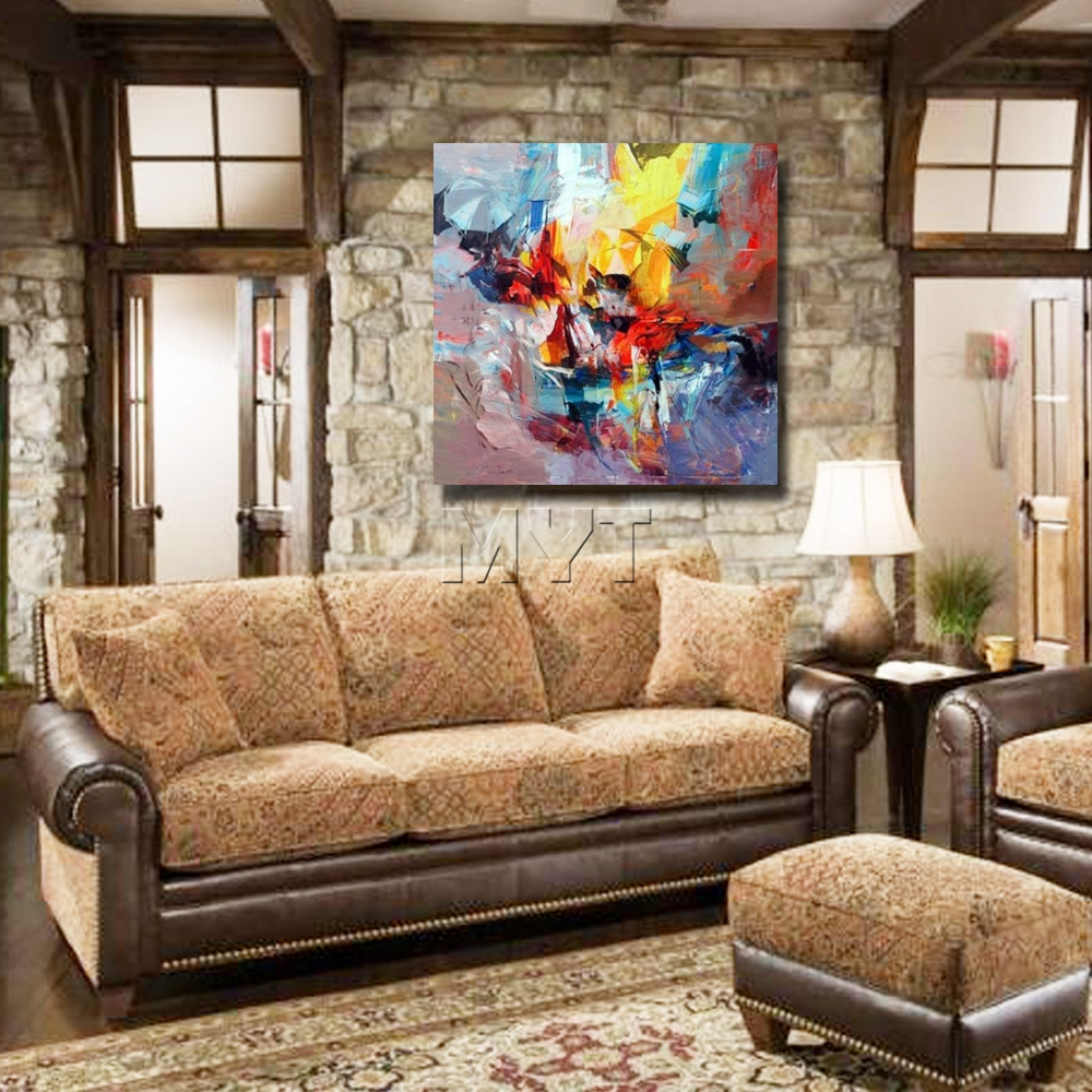 modern artwork for living room. beautiful oil paintings on canvas modern abstract living room wall artwork pretty color decor -in painting \u0026 calligraphy from home for v