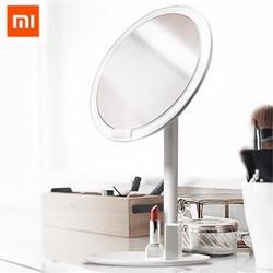 Xiaomi Norma Mijia HD Specchio Per Il Trucco Luce per Tavolo Ricaricabile A LED Portatile Illuminato Specchio Per Il Trucco per le Donne di Bellezza Attrezzo di Trucco