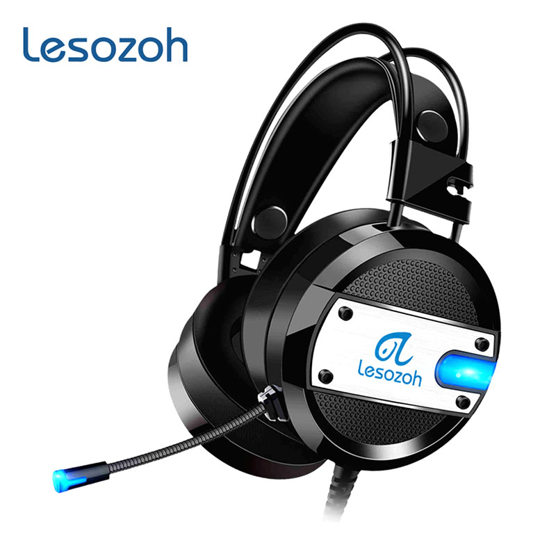 Lesozoh A10 Headphones Stereo Gaming Headset Gamer casque with Microphone for Computer PS4 2016 New Xbox One Laptop