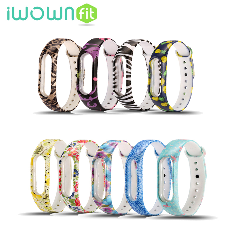 1pc Colorful Replace Wrist Band For Xiaomi Miband Mi band 2 font b Smart b font