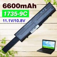 6600mAH Laptop Battery For dell Dell Insprion 1737 Studio 1735 1737 312 0708 312 0711 312 0712 KM973 KM974 KM978 MT335