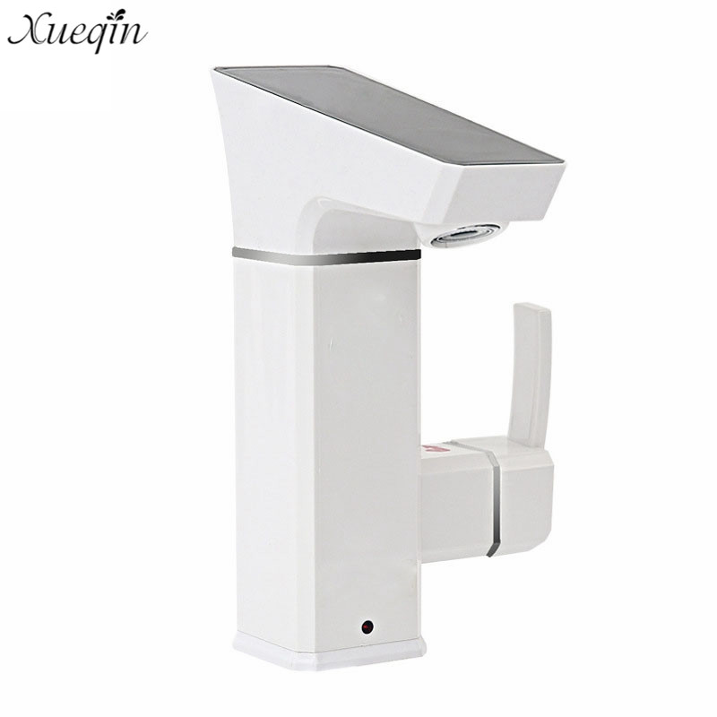 3000W Bathroom Electric Water Heater Taps Leakage Protection Plug Bathroom Kitchen Instant Hot Water Tap Faucet au plug ac 220v 10a electric 3 wires leakage protection cable for water heater