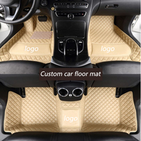 Kalaisike Custom Car Floor Mats For Volkswagen VW Passat Golf Tiguan Sharan Jetta Variant UP Multivan