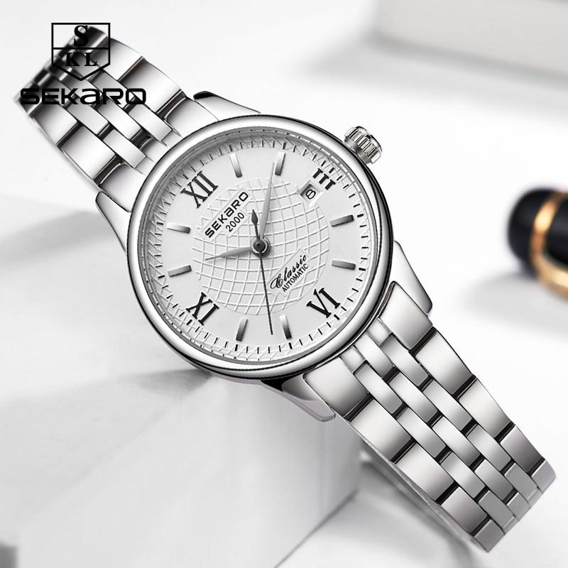Sekaro mærke kvinders mekaniske ur luksus berømte automatiske watch - Dameure - Foto 2