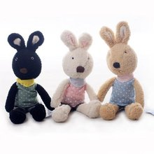 Le Sucre Sugar RABBIT,SG303 bib design 30CM,2 COLORS,stuffed dolls,Birthday,valentine's day gift,factroy wholesale