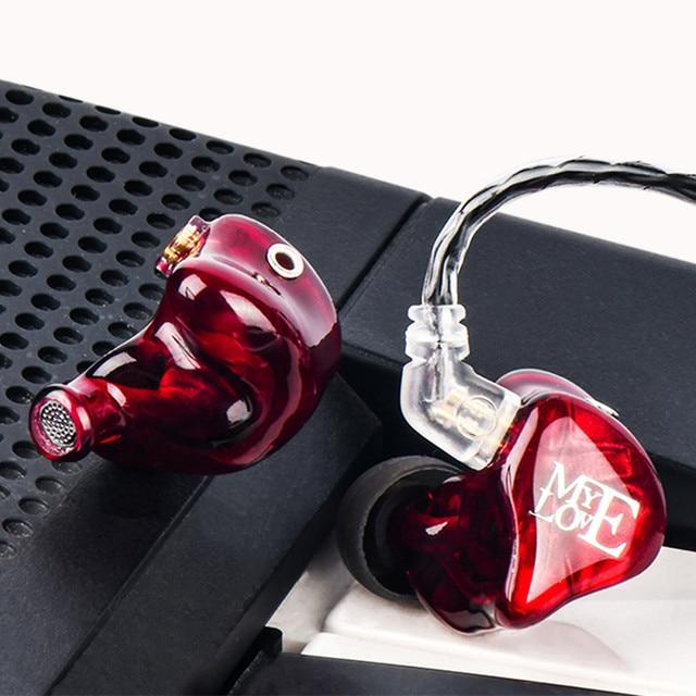 TFZ MY LOVE III HIFI Monitor In Ear Earphone Earplug Graphene Double Moving Circle With Detachable Cable TFZ AIR MY T2 S2 KING 4