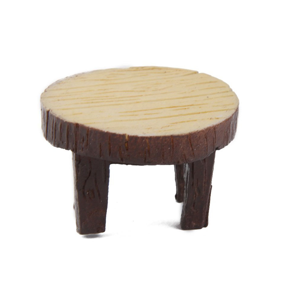 mini furniture. 5 sets dari mini tabel kursi furniture figurine kerajinan lanskap tanaman miniatur dekorasi peri resin ornamen taman di patung-patung \u0026 rumah i