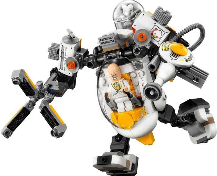 Лепин 07096 Бат Супермен машина серии Еда борьба строительные блоки игрушки для детей Подарки, совместимые LegoINGlys 70920