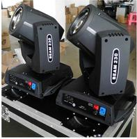10pcs/lot with a flight case for 20 lights sharpy 7r beam moving head 230w light for nightclub shows