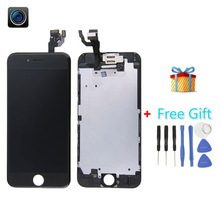 iPartsBuy 4 in 1 for iPhone 6 (Camera + LCD + Frame + Touch Pad +Free Gift ) Digitizer Assembly