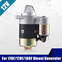 Diesels Engine Electric Starter Motor Assembly ZT76 414 1 ZT76 414A For Kipor For KAMA