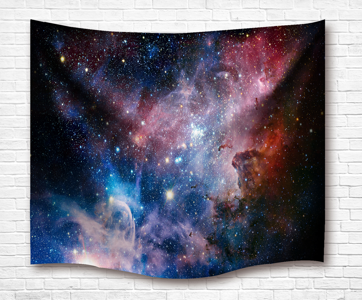 Star Galaxy Tapestry Wall Hanging Sandy Beach Towel Yoga