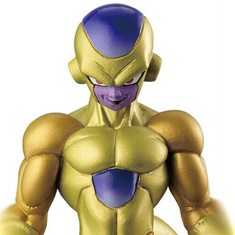 13cm Dragon Ball Z Resurrection F Anime Cartoon Golden Freeza Figures Action Toy  Collection Model Toy Kids Gift