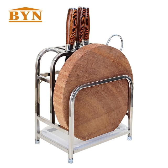 BYN Kitchen Utensils Holder Knives Cutting Board Storage Rack Cooking Tools  Flatware Holder Caddy Utensils Drying