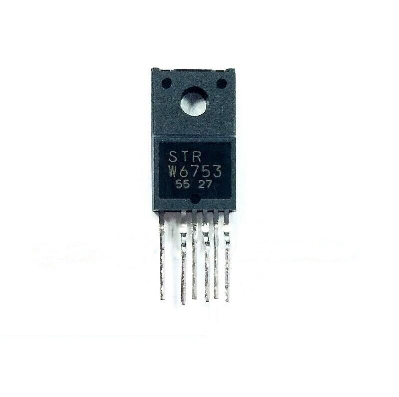 1pcs/lot STR-W6753 STRW6753 W6753 TO220F-6