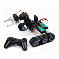 Дистанционное управление для робота, на базе Arduino акрил Танк механическая рука DIY умный монтажный комплект