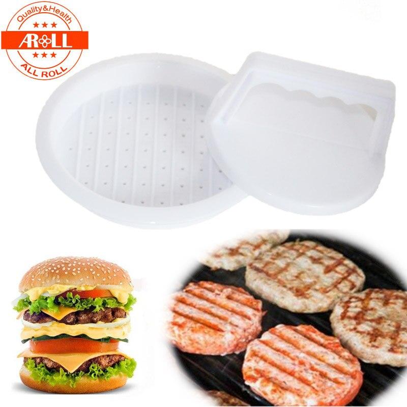 Nouveau En Plastique Carrée hamburger Presse Hamburger Patty Makers Cuisine