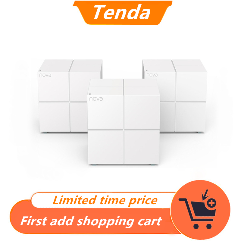 Tenda MW6 Wireless AC1200 Mesh Router WiFi Repeater Dual Band 2 4G 5G Whole Home Mesh