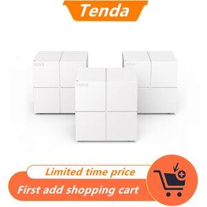 Image 1 - Tenda MW6 Draadloze AC1200 Mesh Router Wifi Repeater Dual Band 2.4G/5G Hele Huis Mesh Draadloze Wifi systeem, app Beheren/Easy Setup