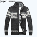 Free Shipping Mens Sweaters Casual Brand Cashmere Men Knitted Cardigan Sweaters snow printed 75