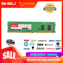 SHELI 4GB 1Rx16 PC4-2400T DDR4 2400Mhz 288Pin Unbu