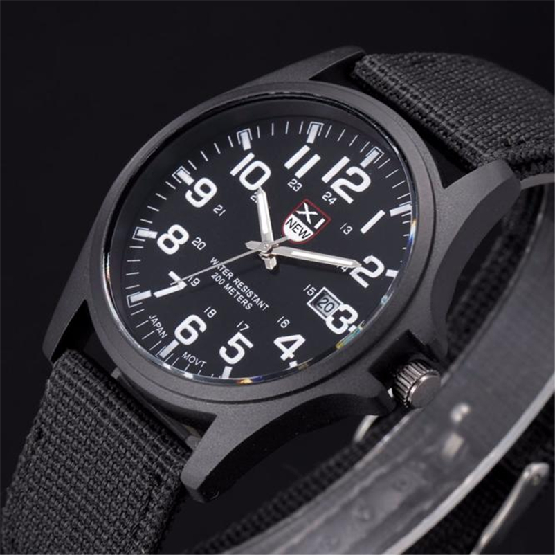 XINEW New Outdoor Mens Wrist Watches Date Stainless Steel Military Sports Quartz Watch Army Sport Digital Relogio Masculino Saat fabulous luxury outdoor sports men watch calendar date mens steel analog quartz watch military erkek kol saat relogio masculino