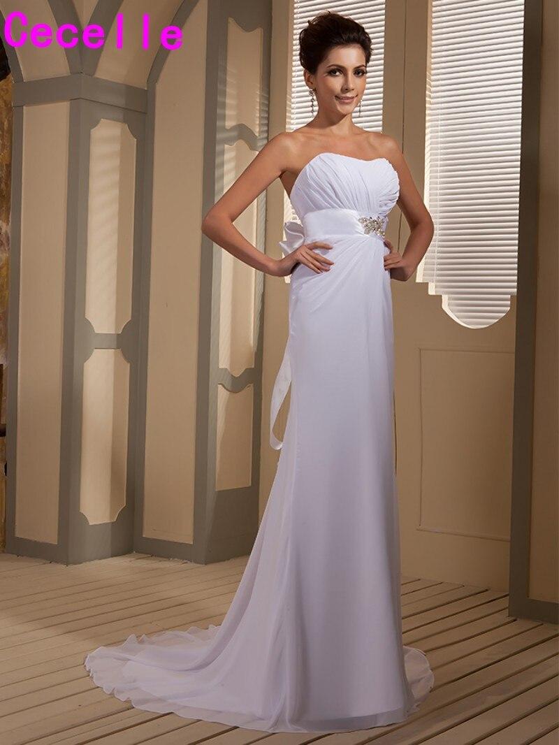 Nett Plus Größe Informellen Hochzeitskleider Zeitgenössisch ...