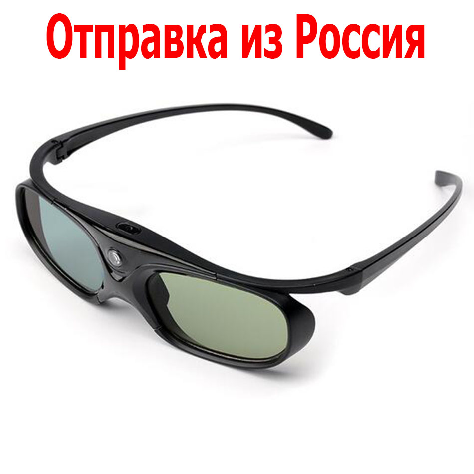 XGIMI DLP Link Shutter 3d glasses active For H1 Z4 Auora Z4 Air Z3 Projector Optoma Sharp LG Acer BenQ Acer Dell Sony Projectors sg08 dlp 3d shutter glasses for dlp link projector black