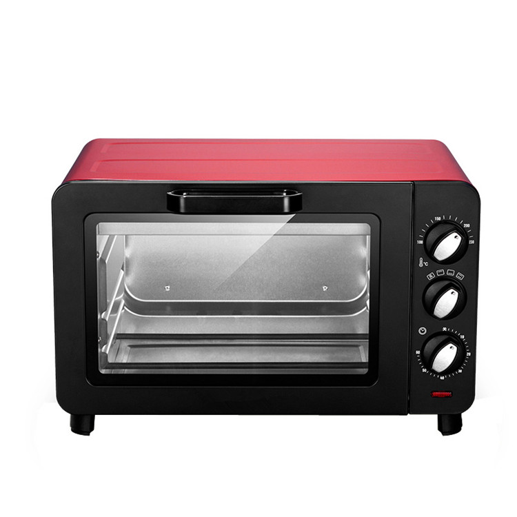 15L small household Multifunction electric oven cake baking machine mini Pizza oven temperature control function knob oven jiqi electric baking pan double side heating household cake machine flapjack pizza barbecue frying grilling plate large1200w
