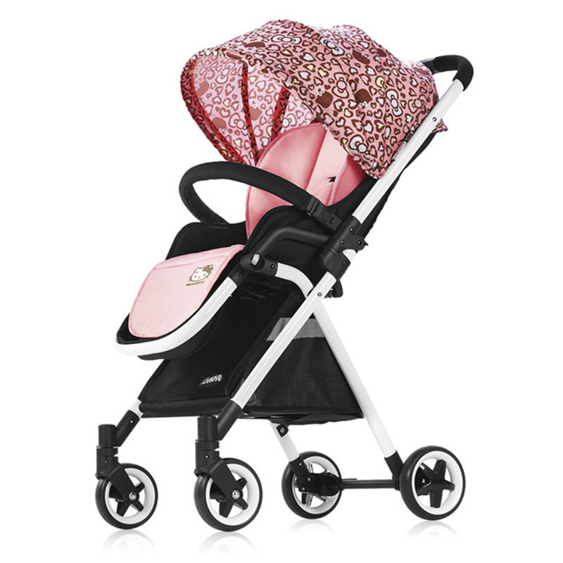 Lightweight Baby Stroller Delivery Free Ultra Light Folding Can Sit or Lie High Landscape Suitable 4 seasons Activity Gear