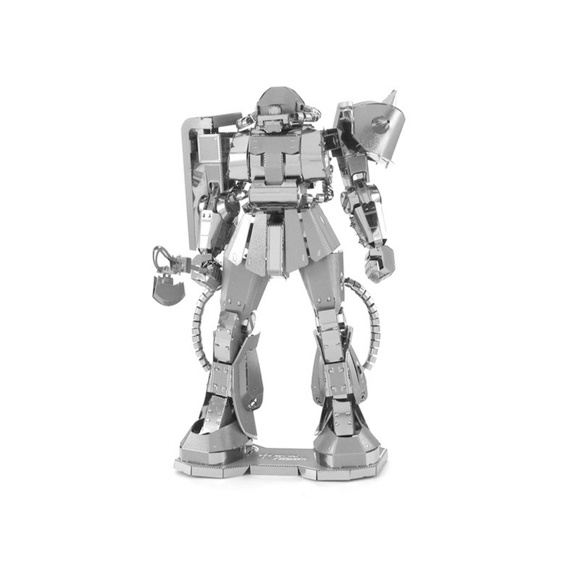 Gundam Etching 3D metal model ROBOT action figure DIY 8CM collection kids toys Christmas gift