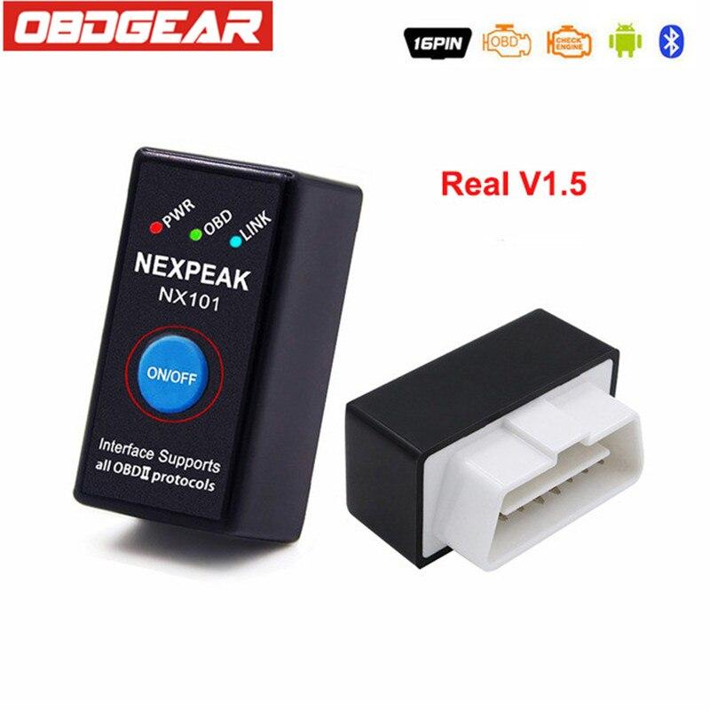 Miglior ELM327 V1.5 ODB 2 Autoscanner EML327 V1.5 OBD2 Adattatore Bluetooth Mini ELM-ODB 2 Auto Diagnostica Scanner Russo-parlando