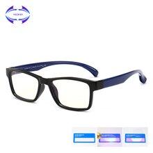 VCKA, квадратный, детский, анти-синий светильник, очки, рамка для девочек, защитные очки TR90, компьютер, мальчик, силиконовый, детский, ультра-светильник, очки