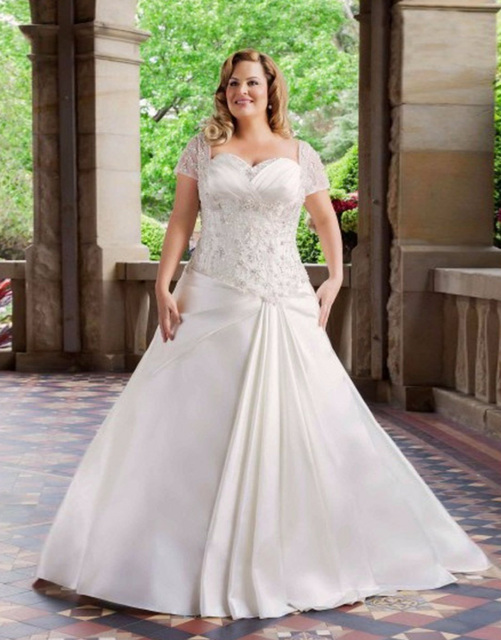 OUMEIYA omy506 New Arrival Elegant Ball Gown Plus Size Appliques ...