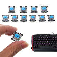 10 Pcs 3 Pin Keyboard Mekanik Saklar untuk Cherry MX Keyboard Tester Kit(China)