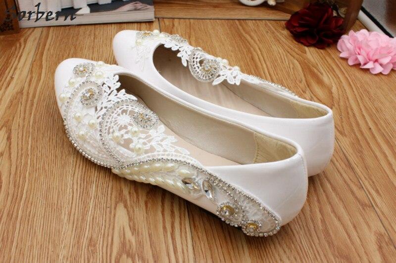 De 5cm Cm Damas Flat Bomba Heel Cristales Tacones Altos Mujer Lujo 3cm Bajos 8 Tacones 8cm Bombas La Heel Heel Heel Boda Encaje Zapatos Sorbern danpTxW1qd