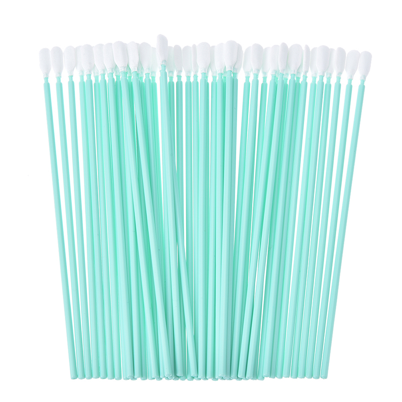 Wholesale 50pcs/lot Printer Cleaning Swabs Solvent Sponge Cleaning Swaps Buds Foam Printhead