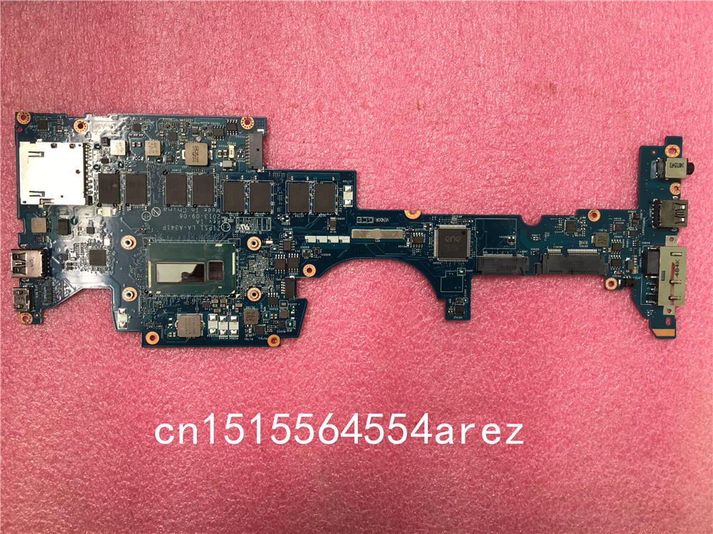 Original laptop Lenovo ThinkPad YOGA S1 motherboard mainboard i3 i3-4010 CPU 4G W8S FRU 04X5232 for lenovo thinkpad x100e laptop motherboard l625 cpu fru 75y4077 100