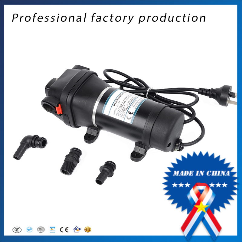 free shipping FL-33 110V High Pressure Electric Automatic Diaphragm Pump Portable washing machine free shipping doulbe head 110v electric churros