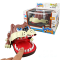 Hot Selling Novelty Funny New Baby Lucky Dog Toys Bulldog Mouth Dentist Bite Finger Games Plastic ABS Horror Fun Kids Toys Gifts