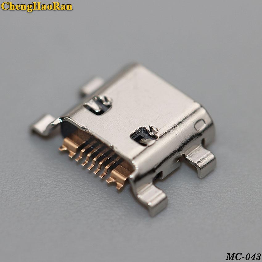 ChengHaoRan 10pcs For Samsung S3 S4 MINI I8190 S7562 S7560 S7268 S7582 S7562i Micro Usb Charging Connector Plug Dock Socket Port