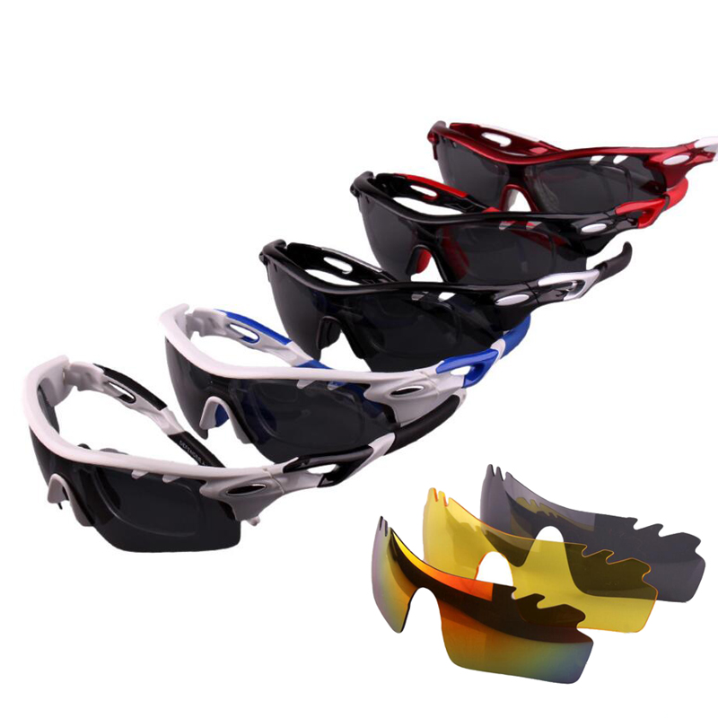 Polarized Cycling Glasses UV400 Protect Bicycle Men Women Sunglasses Outdoor Sport Bicycle Running Cycling Eyewear 3 Lens M1029 2017 new brand mans 100% pure b titanium glasses man ultra light full frame polarized sunglasses men anti uv400 eyewear