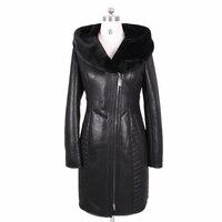 2017 mới mùa đông Faux fur coat phụ nữ dài da lộn Thời Trang Thêu trùm đầu Dày khả năng chịu Lạnh sexy bf cộng với kích thước Ngực 140 cm