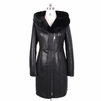 2017 new winter Faux fur coat women long suede Fashion Embroider Hooded Thickened Cold resistant sexy bf plus size Bust 140 cm